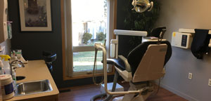 Operatory room at Chelsea Dexter Dental Group