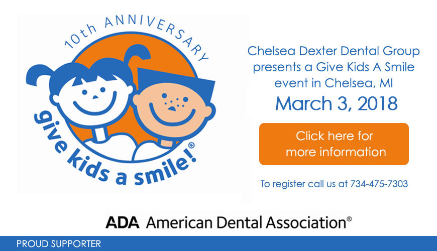 Teenage girls smiling at Chelsea Dexter Dental Group in Chelsea & Dexter, MI